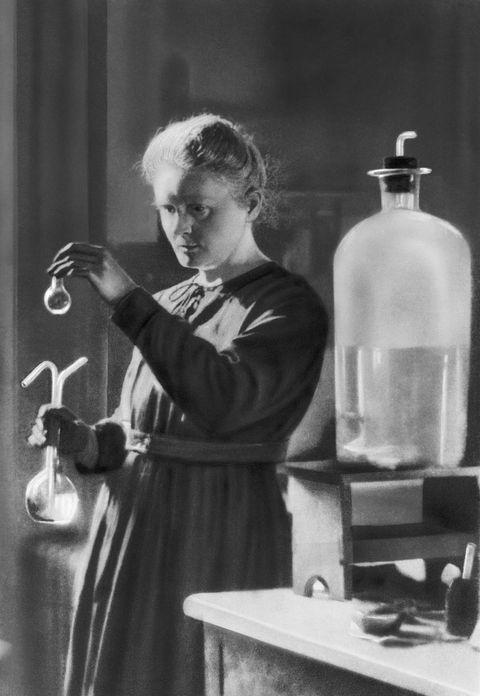 Marie Curie e la scoperta della Radioattività